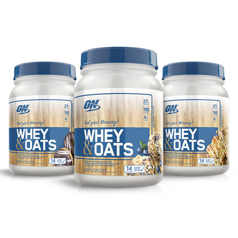 Optimum Nutrition Whey & Oats 1.54lb (700g)