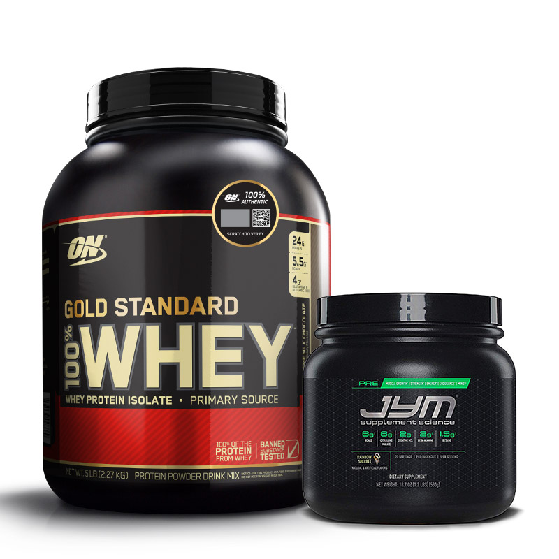 Gold Standard Whey - Whey Gold Standard - Preworkout - Whey - Energy - Optimum Nutrition