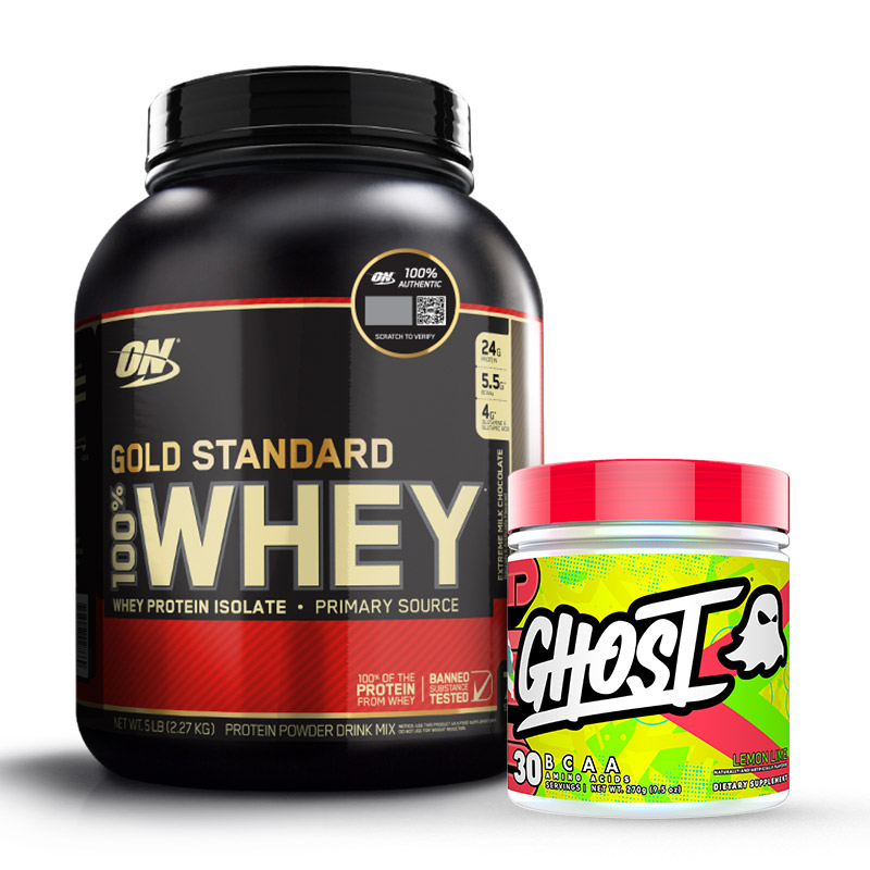 Gold Standard Whey - Whey gold Standard - BCAA - recovery - optimum nutrition - whey
