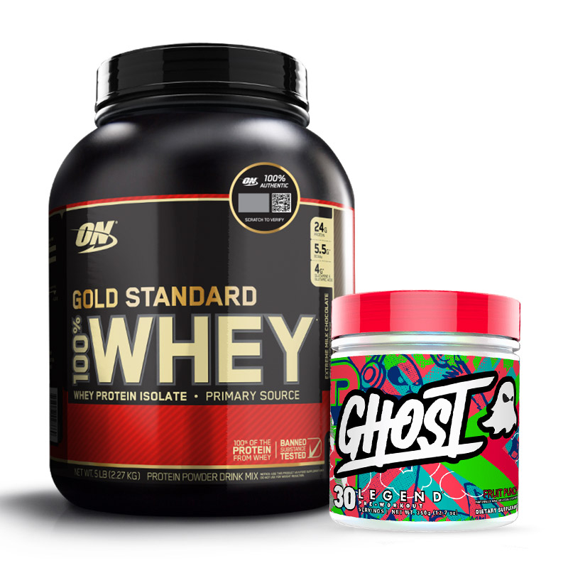 gold standard whey - whey gold standard - whey - legend - ghost legend - preworkout - energy