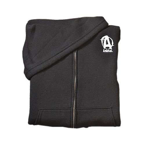 Animal Zip Up Hoodie