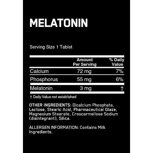 ON Melatonin - 100 tabs