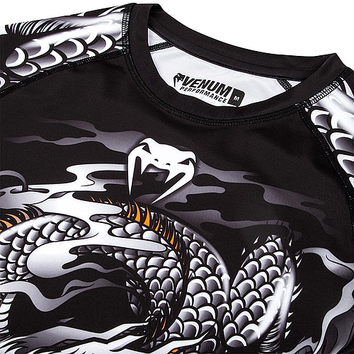 Venum Dragon's Flight Rashguard - Short Sleeves